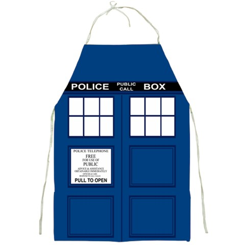 ab8b9cb4630 TARDIS Apron · Much Needed Merch · Online Store Powered by Storenvy