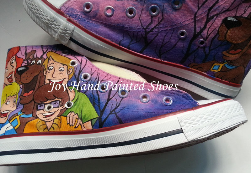 6e9ddb89352f Customer feedback for this store 4 past orders · 0 customer ratings.  Details  Shipping   FAQs. Converse All Star Scooby Doo Hand Painted ...