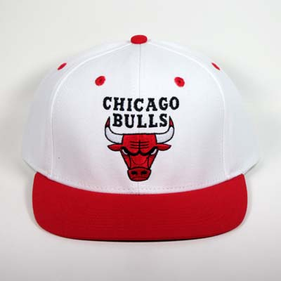 White red chicago bulls snapback 41714112a88