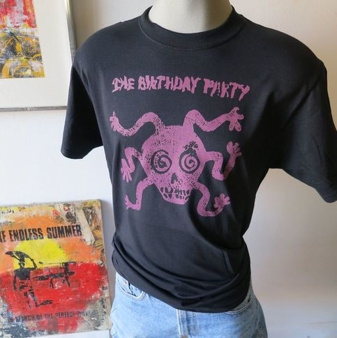 The Birthday Party Band T Shirt Screen Print On Storenvy