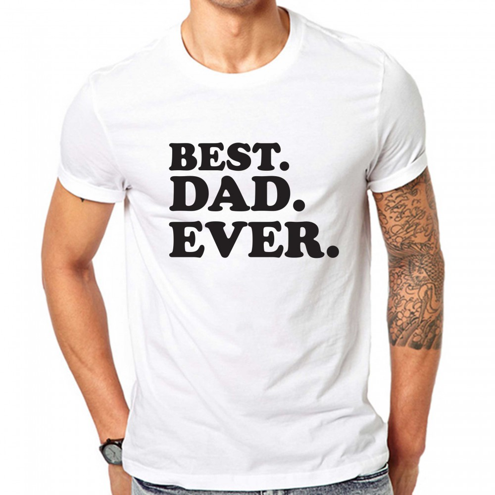 39c49af2 Best Dad Ever Fathers Day Shirts Father Day Gift T-Shirt | GullPrint ...