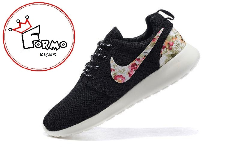 new products 78360 6b9f6 Custom Nike Roshe Run athletic running shoes with floral print on Storenvy