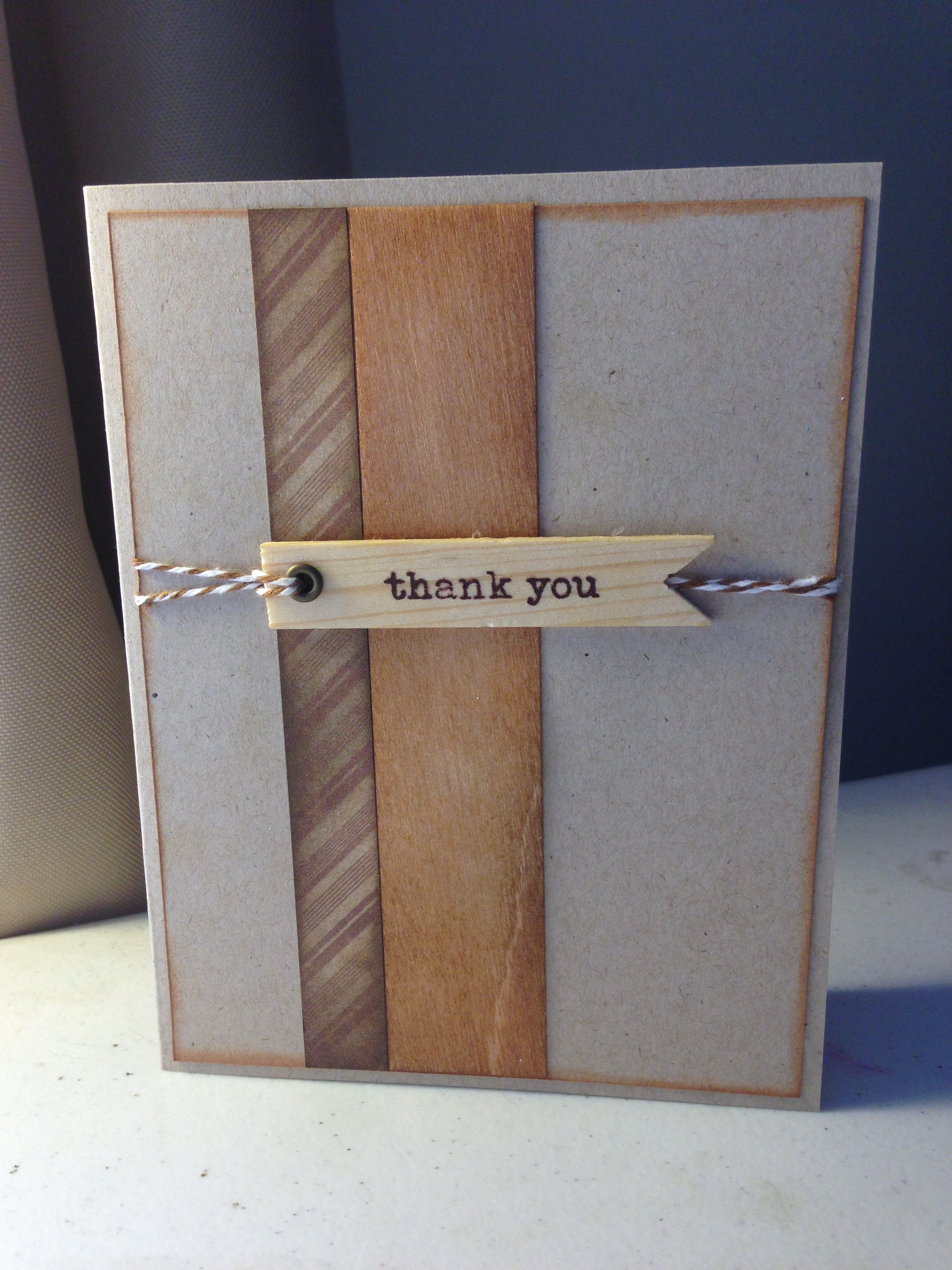 Wooden Thank You On Storenvy