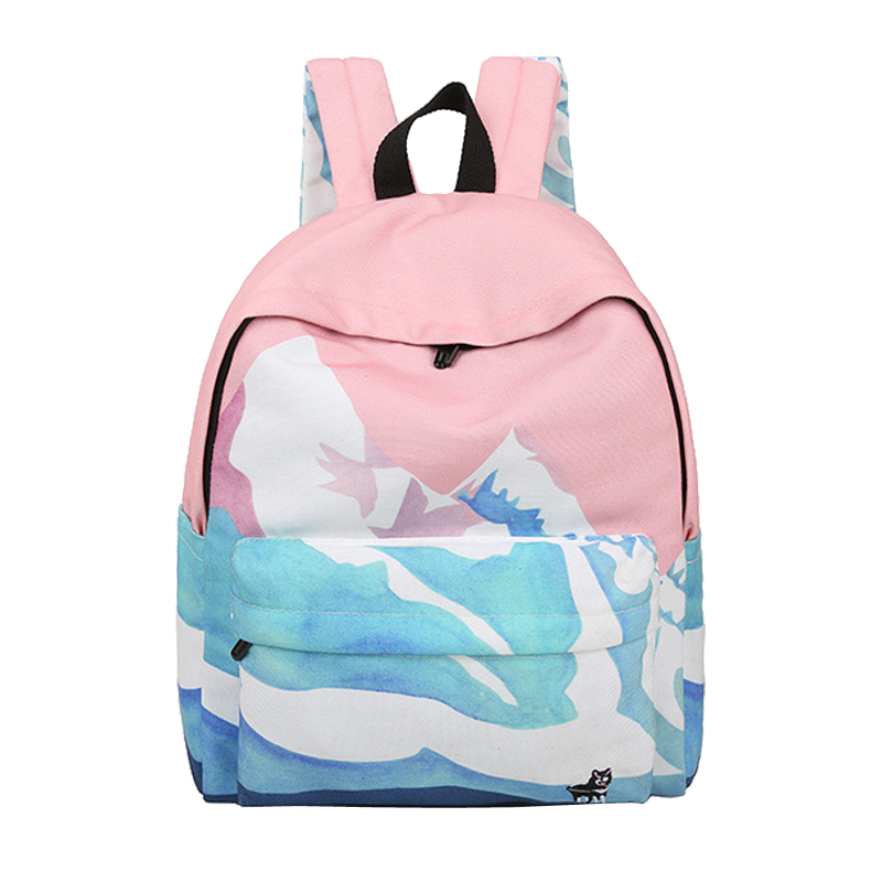 Pastel Mountain Backpack On Storenvy