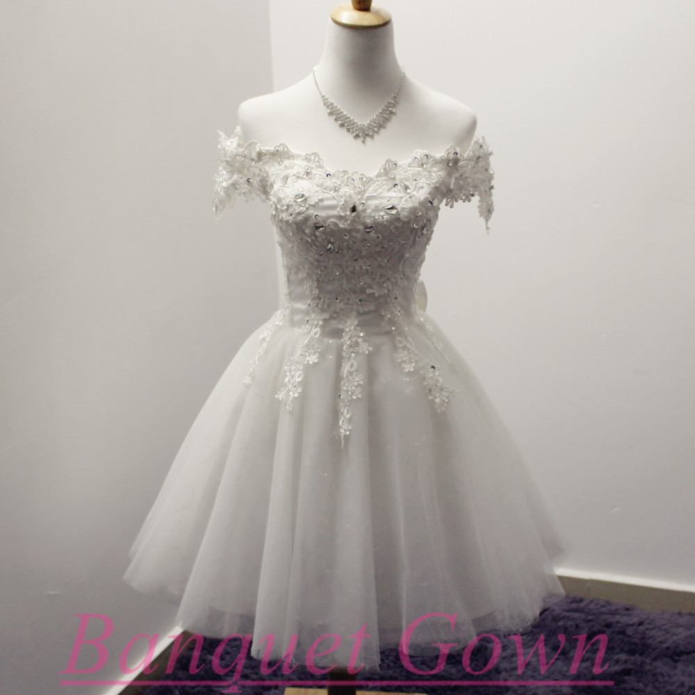 Ivory Homecoming Dresses,Cute Short Prom Dresses,Lace Prom Gowns ...