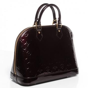 cc1b2ac60da Louis vuitton satchel purple 11115349 1 0 original. Louis Vuitton Vernis  Alma BB ...