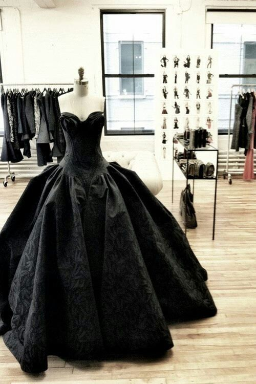 Black Gown Dress