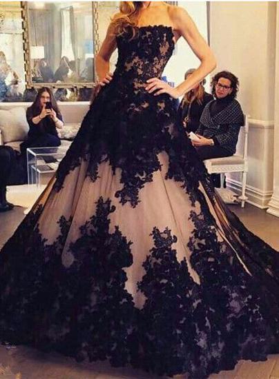 Black Wedding Gown.Wedding Dresses Bridal Gown Black Wedding Dress Lace Wedding Dress Gorgeous Wedding Dress Custom Made Wedding Dress Pd190045 From Focusdress