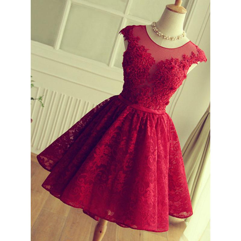 4b3d6c3fb1e Hot sale Applique Short Prom Dresses