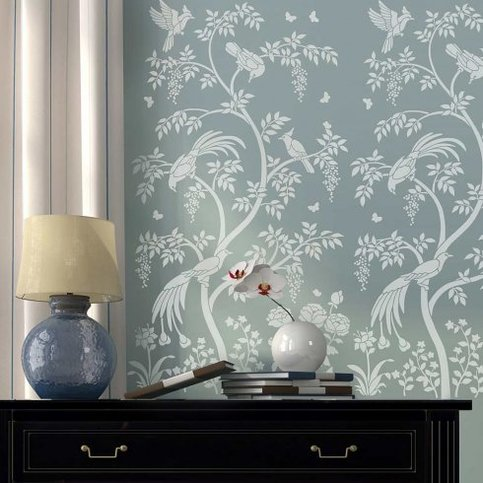 Large Stencil Designs For Walls