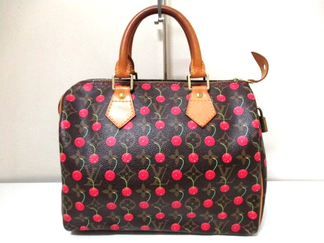 b6e3143f22936 100% Authentic Louis Vuitton Speedy 25 in Cheeries on Storenvy