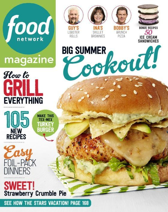 Food Network Magazine - 2-Year Magazine Print Subscription
