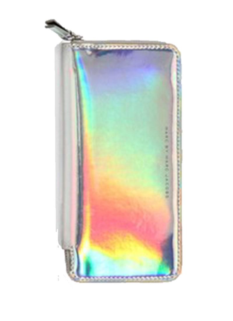 Hologram Women's Metalic Glitter Clutch Purse - Wallet (45641748) photo