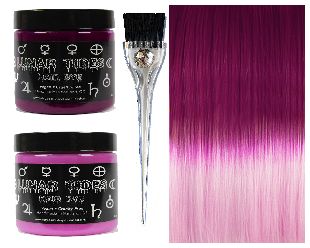 Pink Ombre Hair Dye Kit On Storenvy