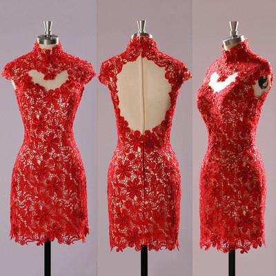 Solo Dress Red Homecoming Dresslace Homecoming Dresscute