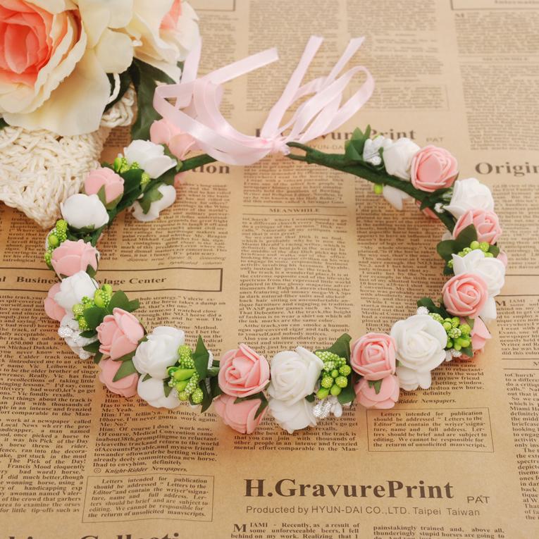 J71 pink flower ramantic classical pink rose garland bridesmaid j71 pink flower ramantic classical pink rose garland bridesmaid flower garland mightylinksfo