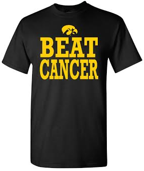 Storenvy coupon: Iowa Beat Cancer T-Shirt
