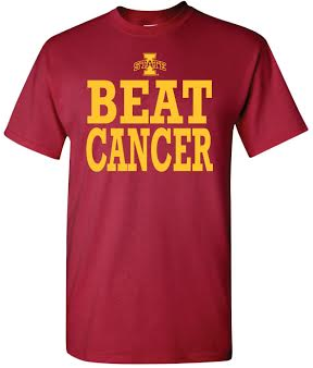 Storenvy coupon: Iowa State Beat Cancer T-Shirt