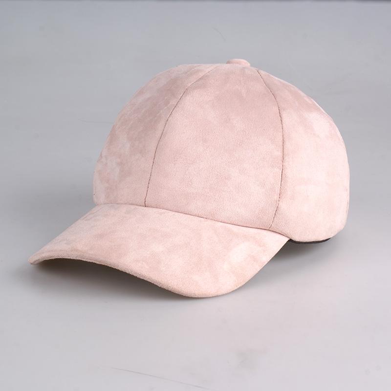 2867ef29433be Pink Vegan Suede Baseball Ball Cap on Storenvy