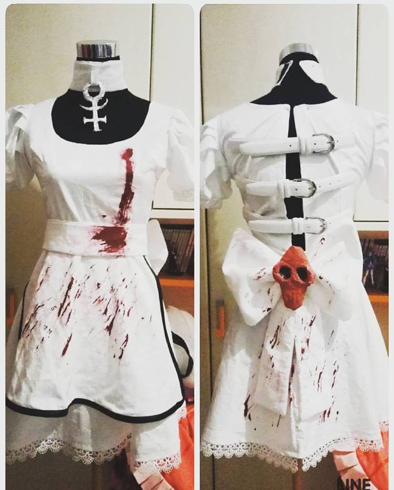 4835efdc5473a Alice Madness Returns Hysteria dress cosplay