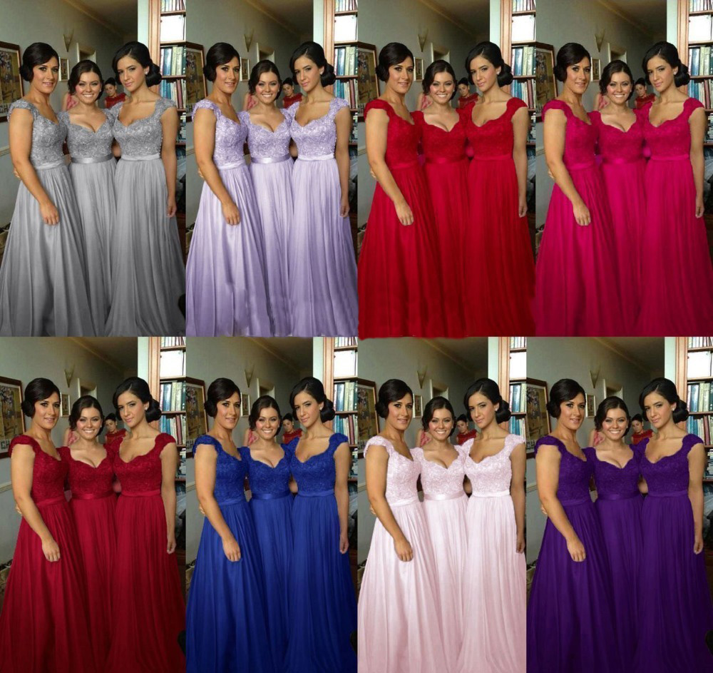 Long bridesmaid dresses grey bridesmaid dress lace bridesmaid customer feedback for this store 493 past orders 0 customer ratings details shipping faqs the long bridesmaid dress ombrellifo Image collections