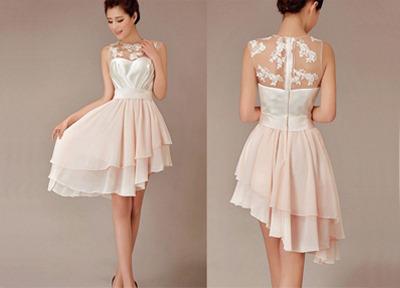 Lace bridesmaid dresses, short bridesmaid