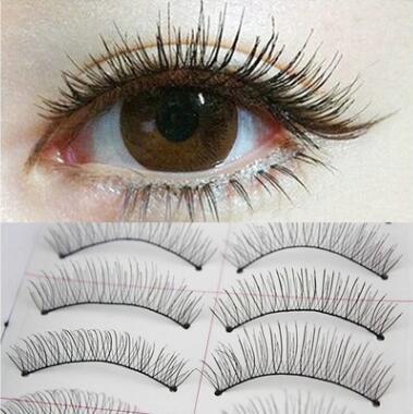 f78c937beb5 10 Pairs Natural Thick Long False Eyelashes Fake Eye Lashes Voluminous  Makeup #79-217