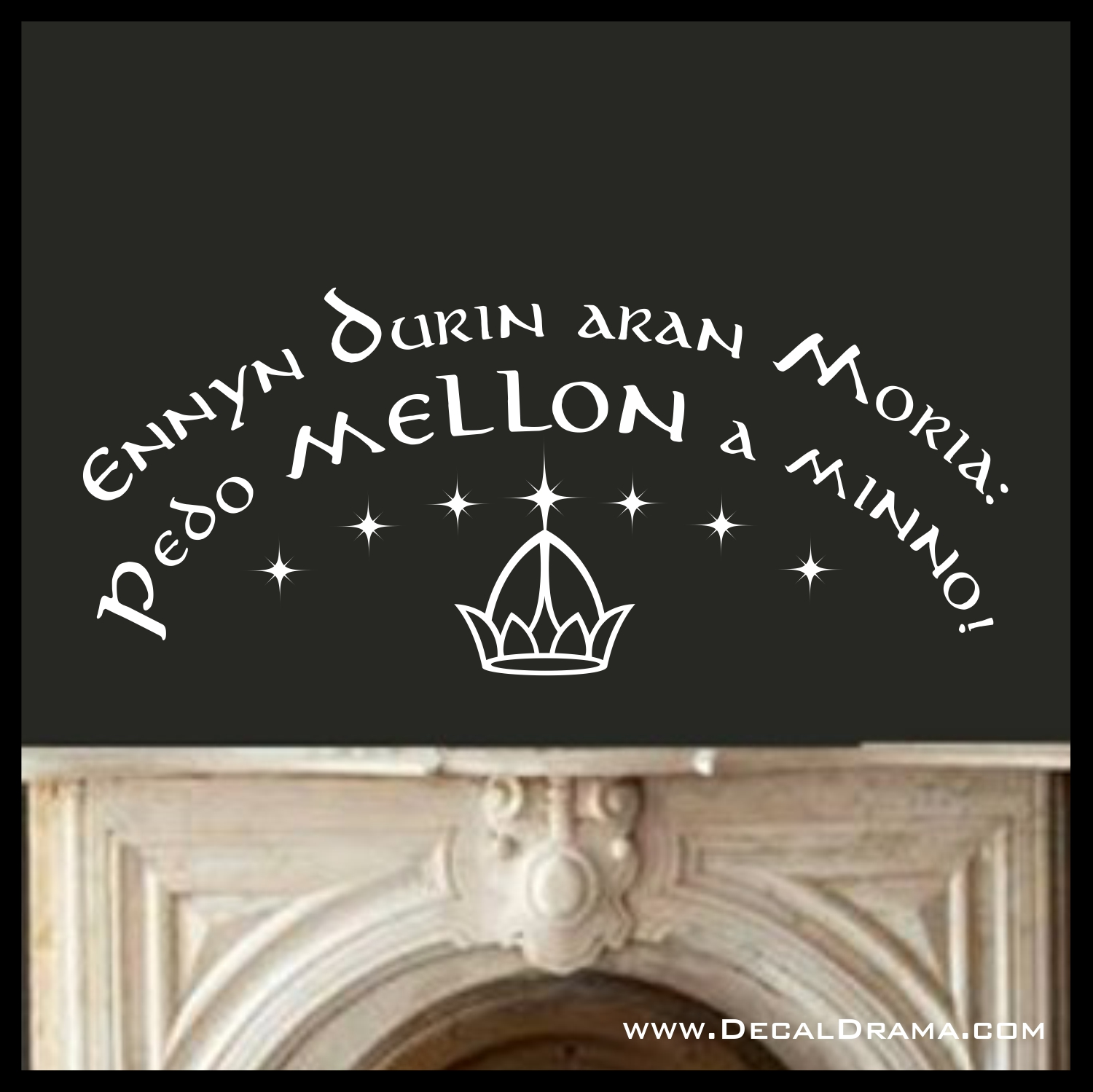 Mellon Lord Of The Rings