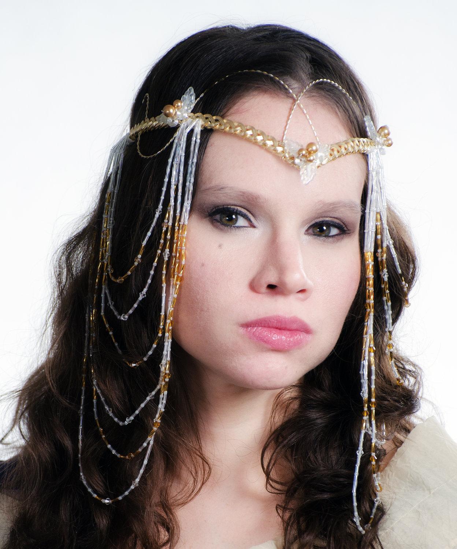 Custom Elven Wedding Headdress on Storenvy