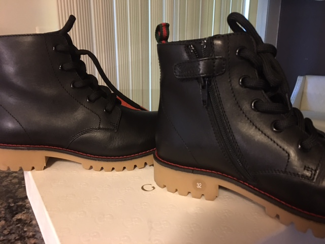 b2e47306a BRAND NEW Gucci Leather Boots - Kids on Storenvy