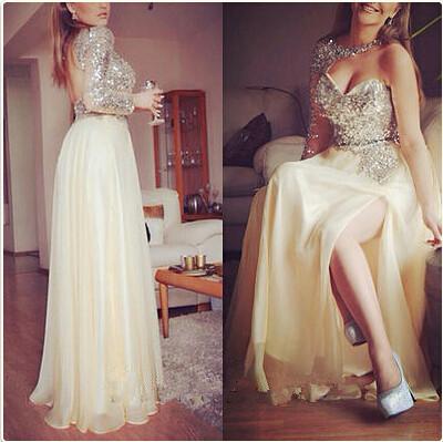 387e562df41 One shoulder prom dresses