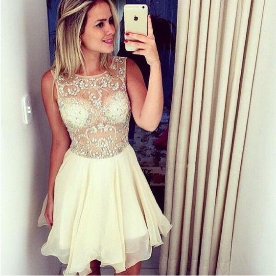 ed032c59fef Rhinestone Homecoming Dresses
