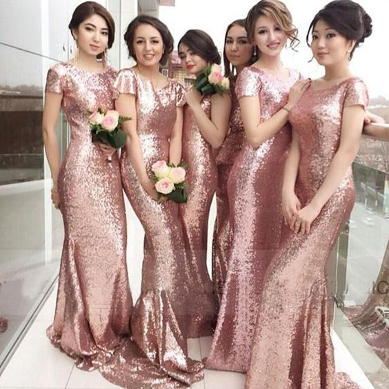 5760598ba3e Long Bridesmaid Dresses
