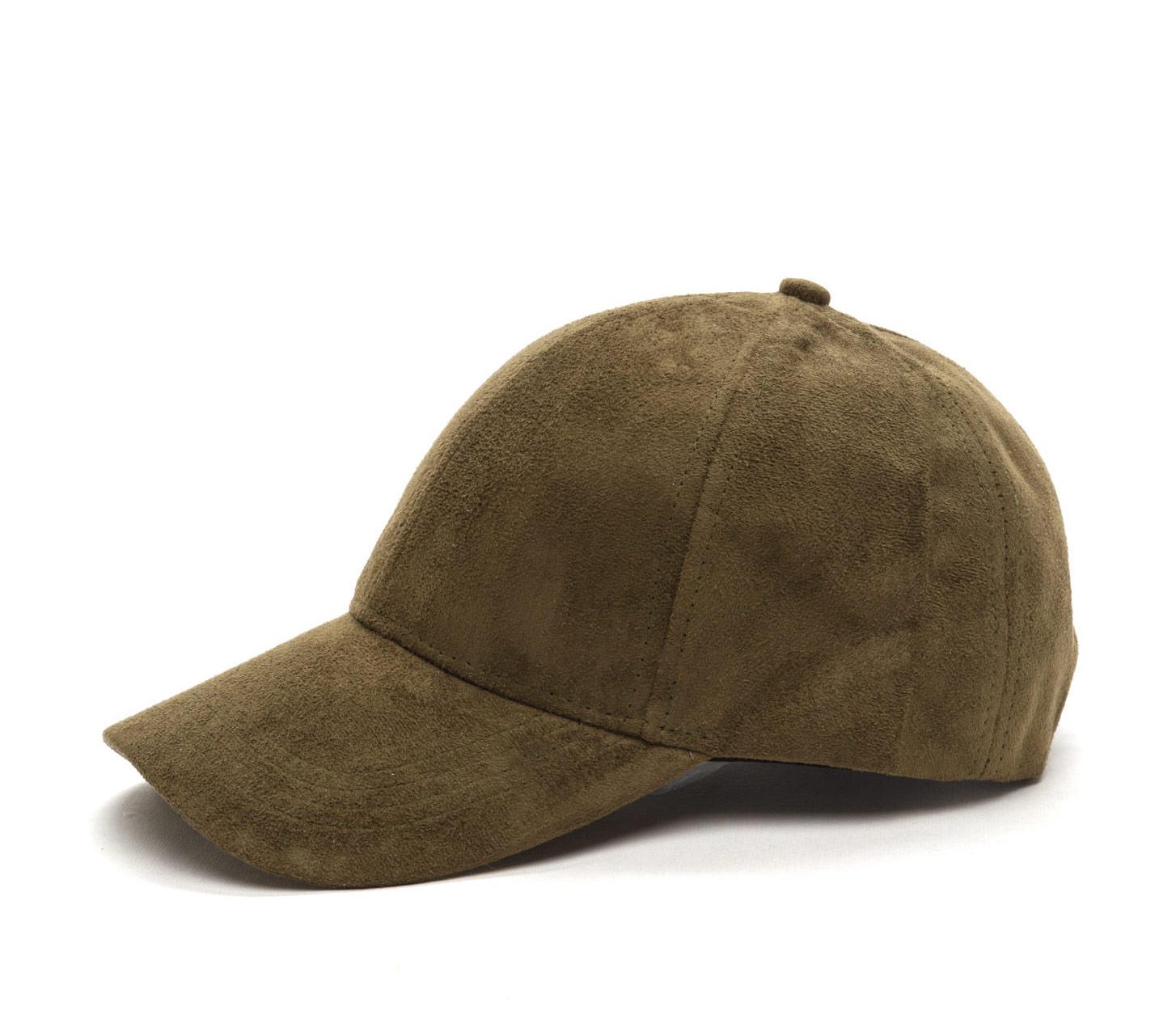 35d84ba8cd7 Olive Green Suede Baseball Cap on Storenvy