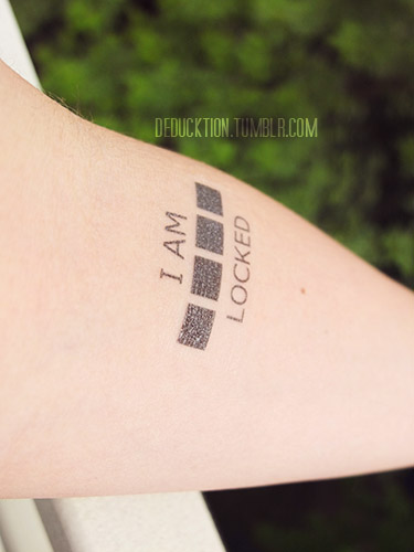 bbc sherlock temporary tattoos on storenvy