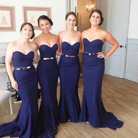 Navy Mermaid Bridesmaid Dresses Long Bridesmaid Dresses Simple Bridesmaid Dresses Sexy Bridesmaid Dresses Custom Bridesmaid Dress 17071 Sold By
