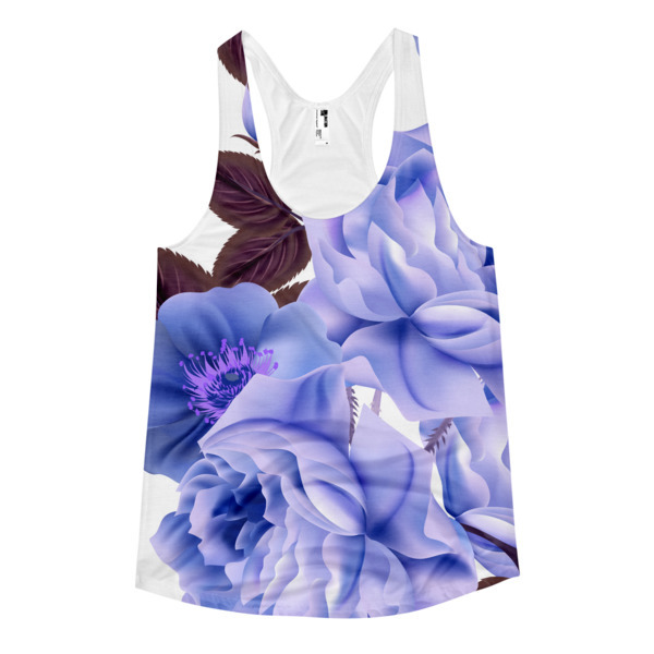 b786453081046 Blue Tuesday 1 Women's racerback tank · My Lily Me! · Online Store Powered  by Storenvy