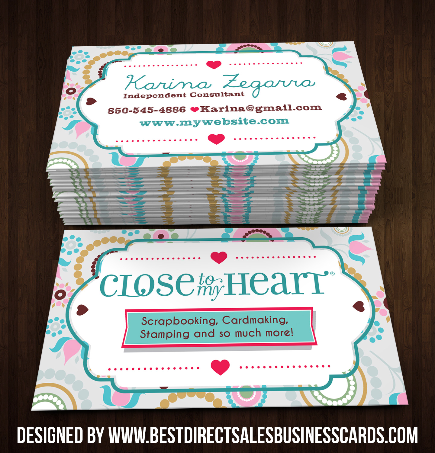 Image of Close to my Heart Business Cards style 3