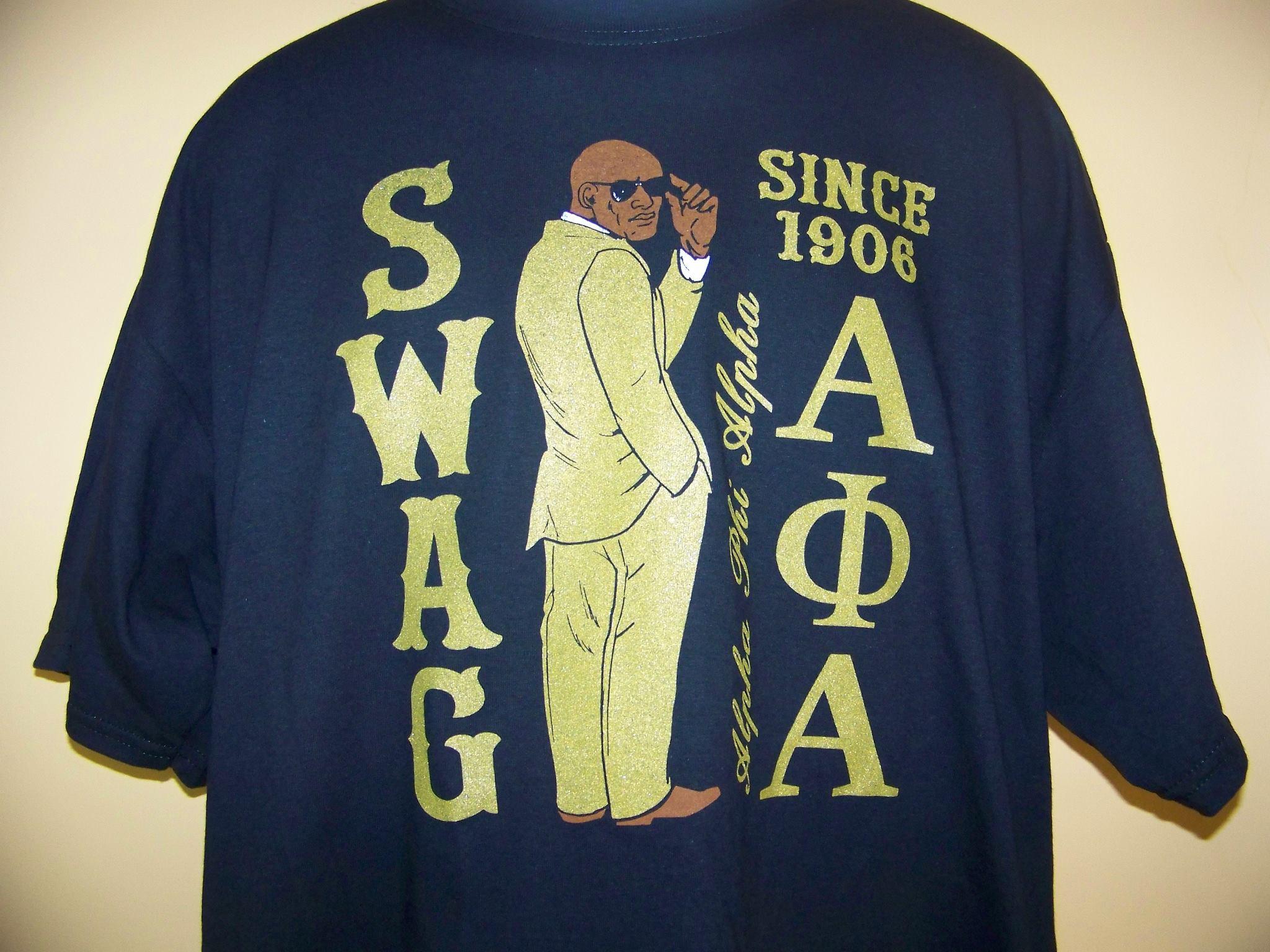Storenvy coupon: Fraternity - Alpha Phi Alpha APE SWAG Black T-Shirt