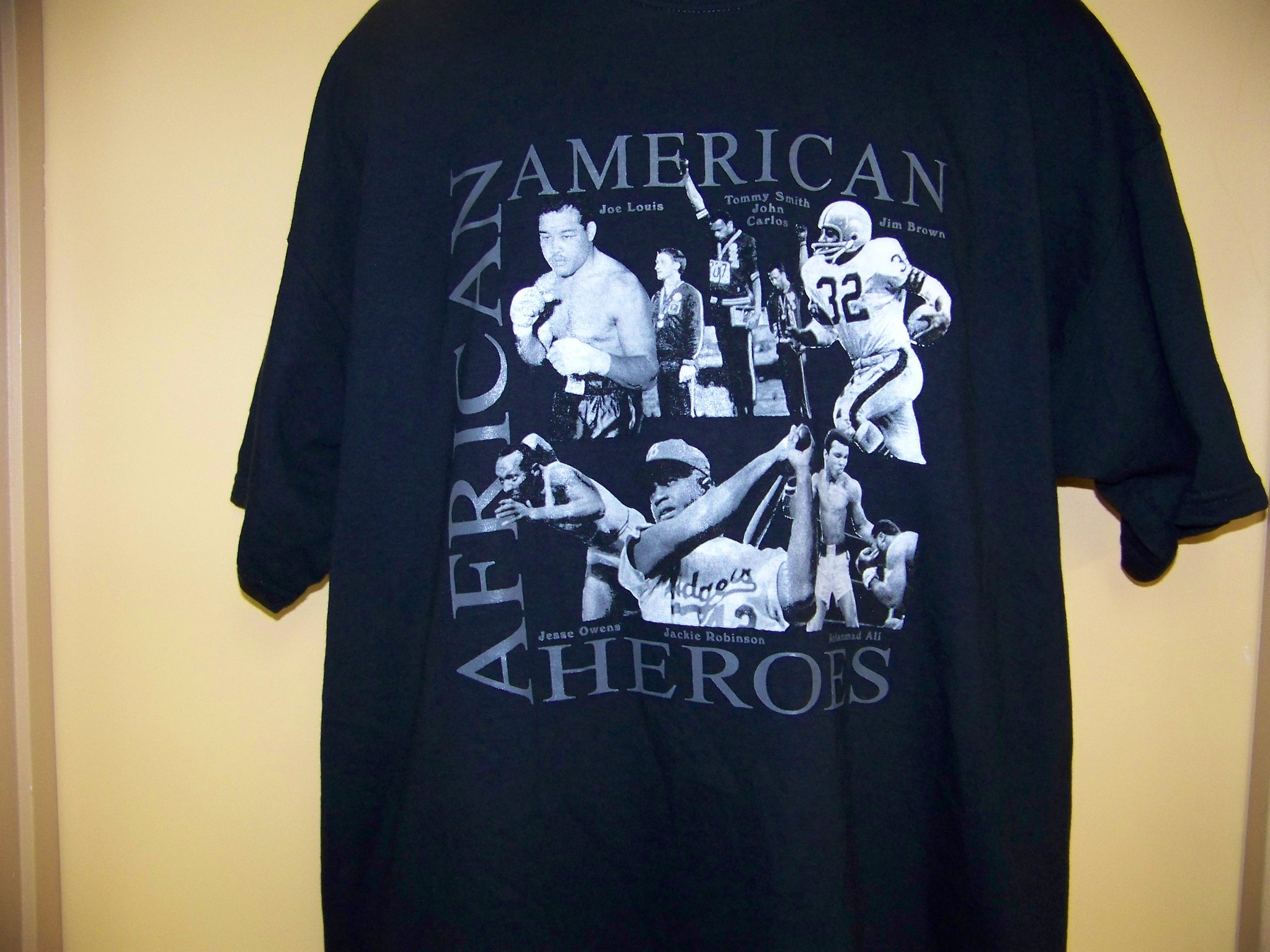 Storenvy coupon: African American History - African American Sports Heroes Black T-Shirt