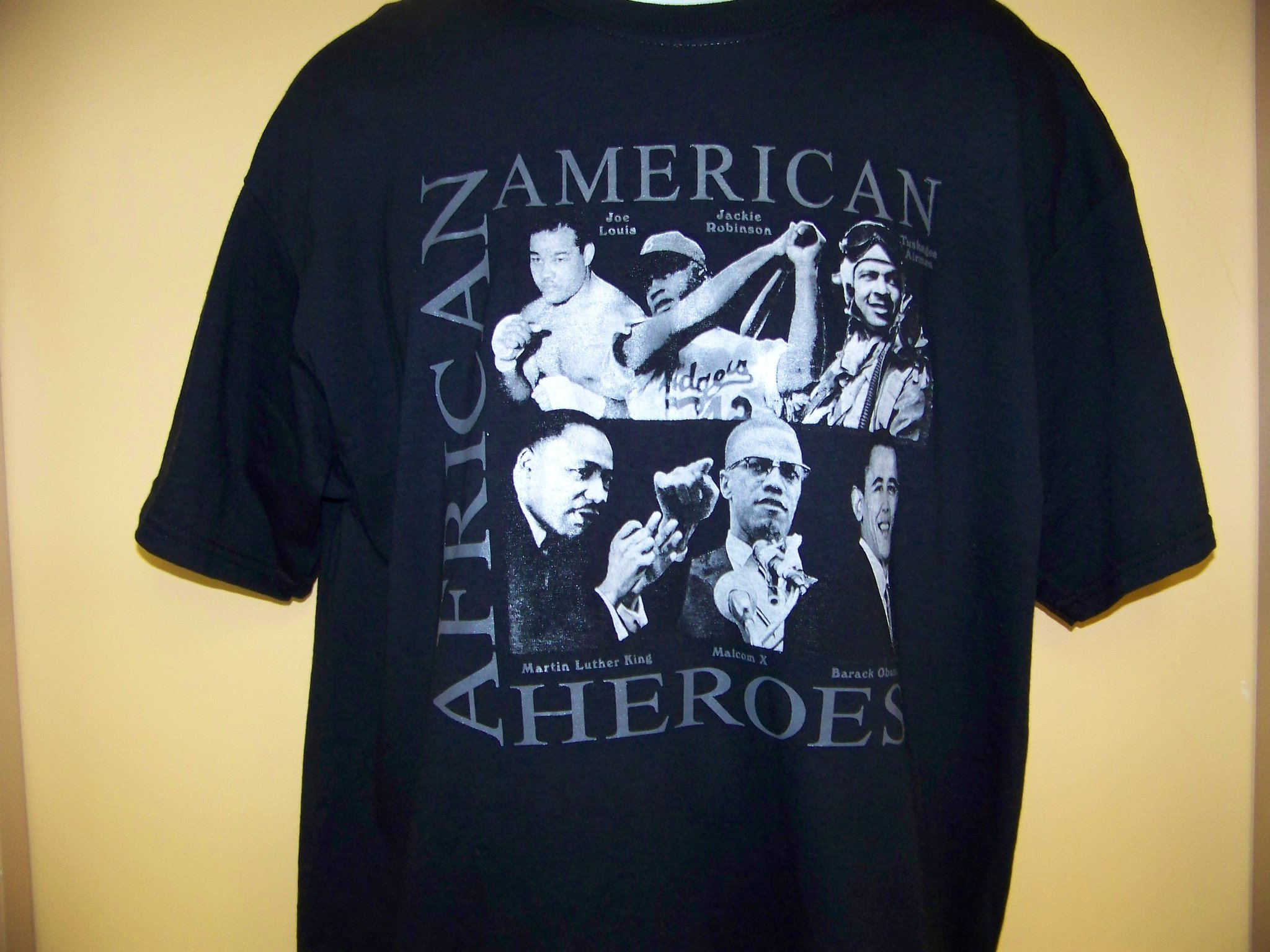 Storenvy coupon: African American History - African American Sports Heroes 2 Black T-Shirt