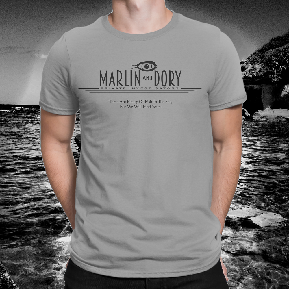 e79b2133 Marlin & Dory - Private Eye T-Shirt on Storenvy