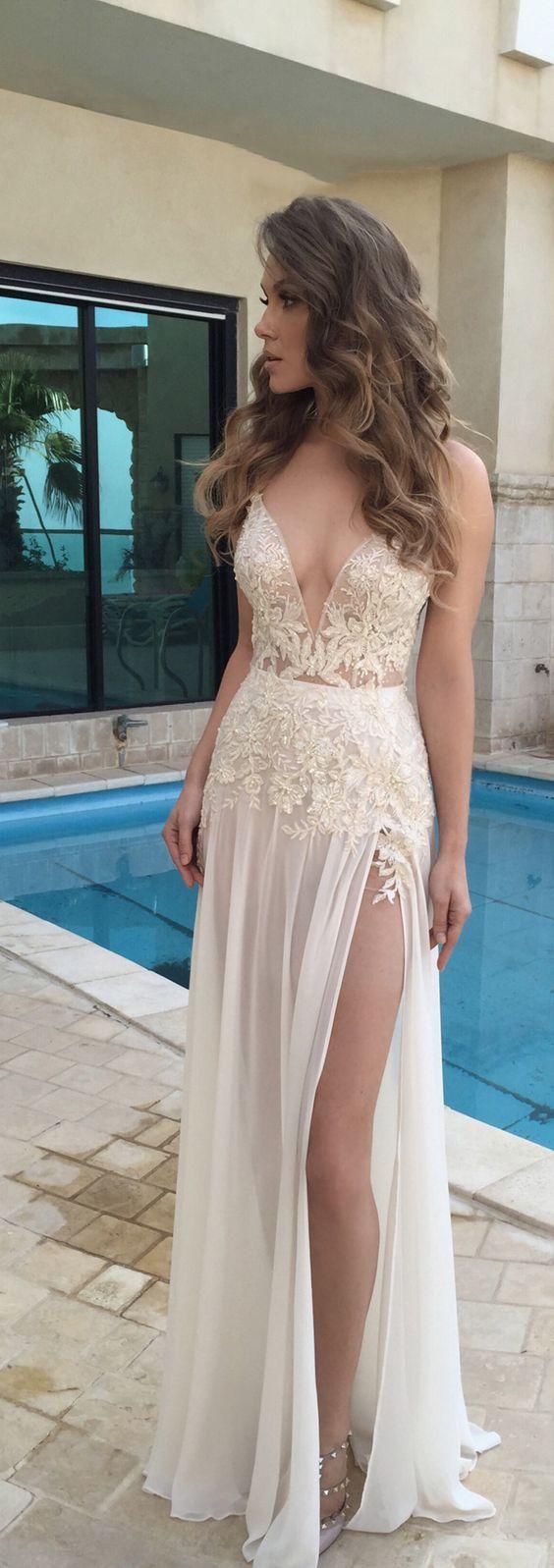 7f9a068a4e9 Chiffon lace prom dresses
