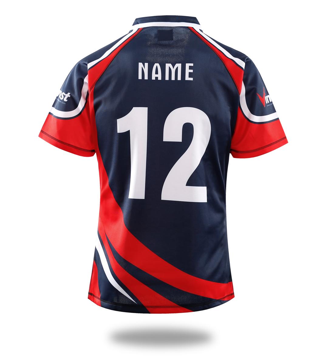 5d8edddeee6 Red Black Rugby Shirts - DREAMWORKS