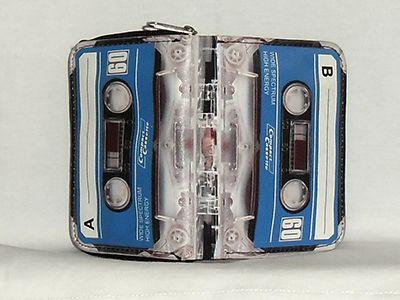 Blue Cassette - Tape Purse - Wallet (48495767) photo