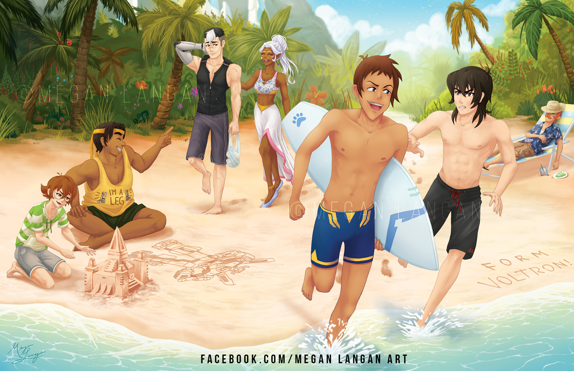 Beach Episode Megan Langan Illustration Online Store Powered By