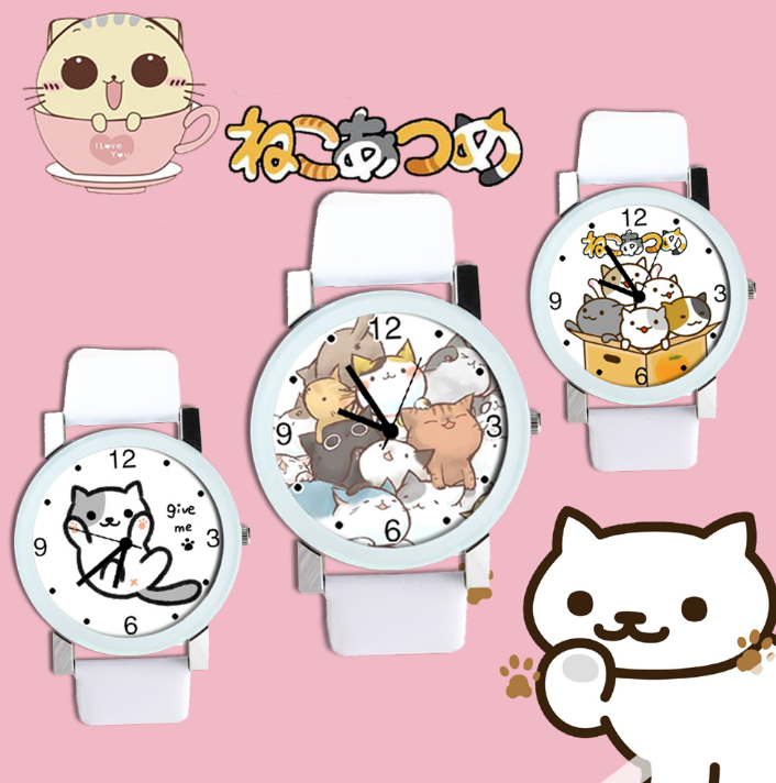 Cute Neko Atsume Cat Watch