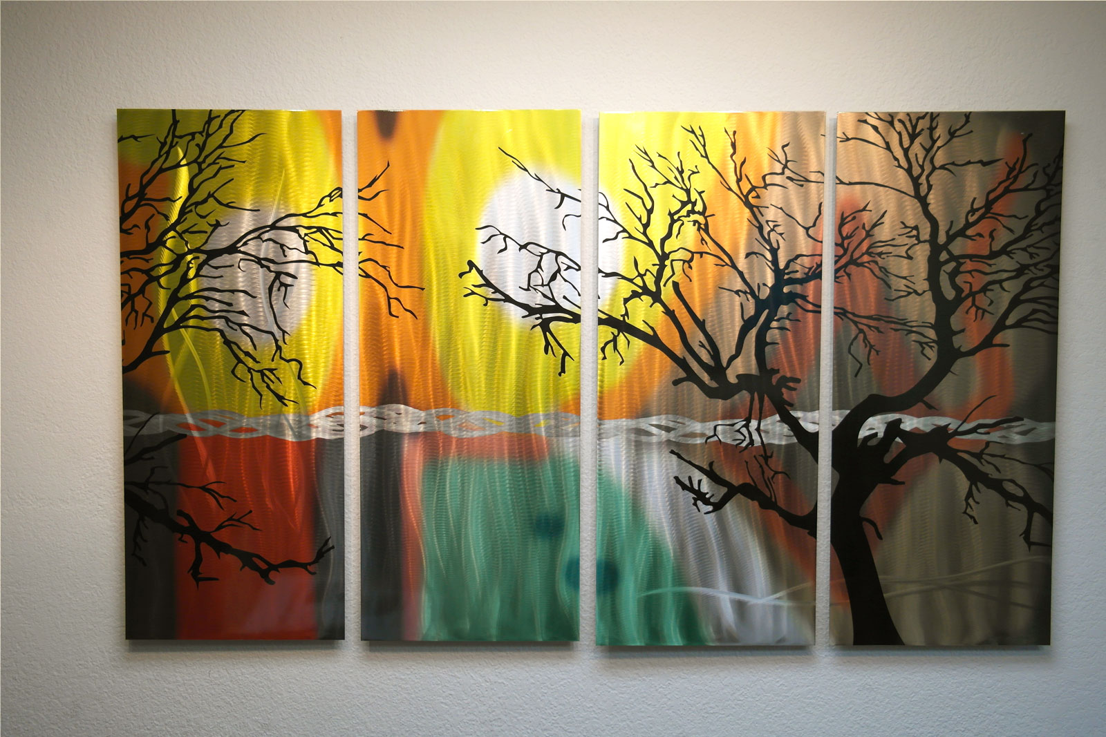 Tree In Silhouette 36x63