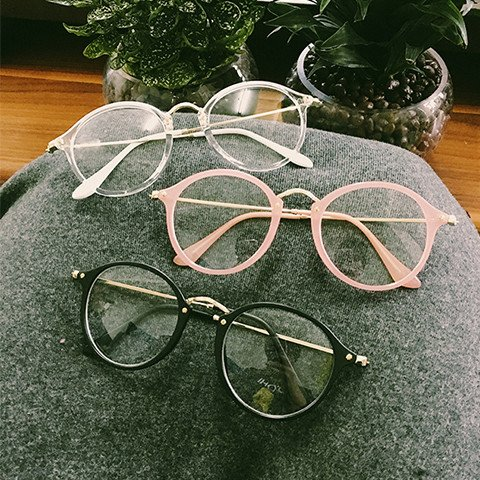 kawaii circle glasses on storenvy