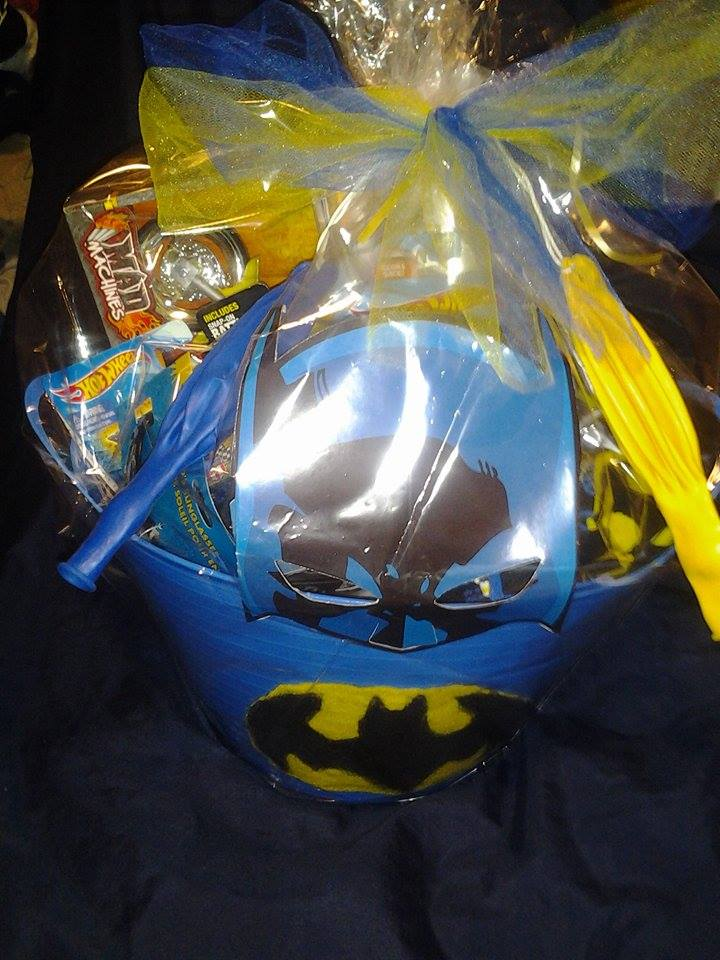 Batman Birthday Gift Basket For Young Boy With Free Shipping In US